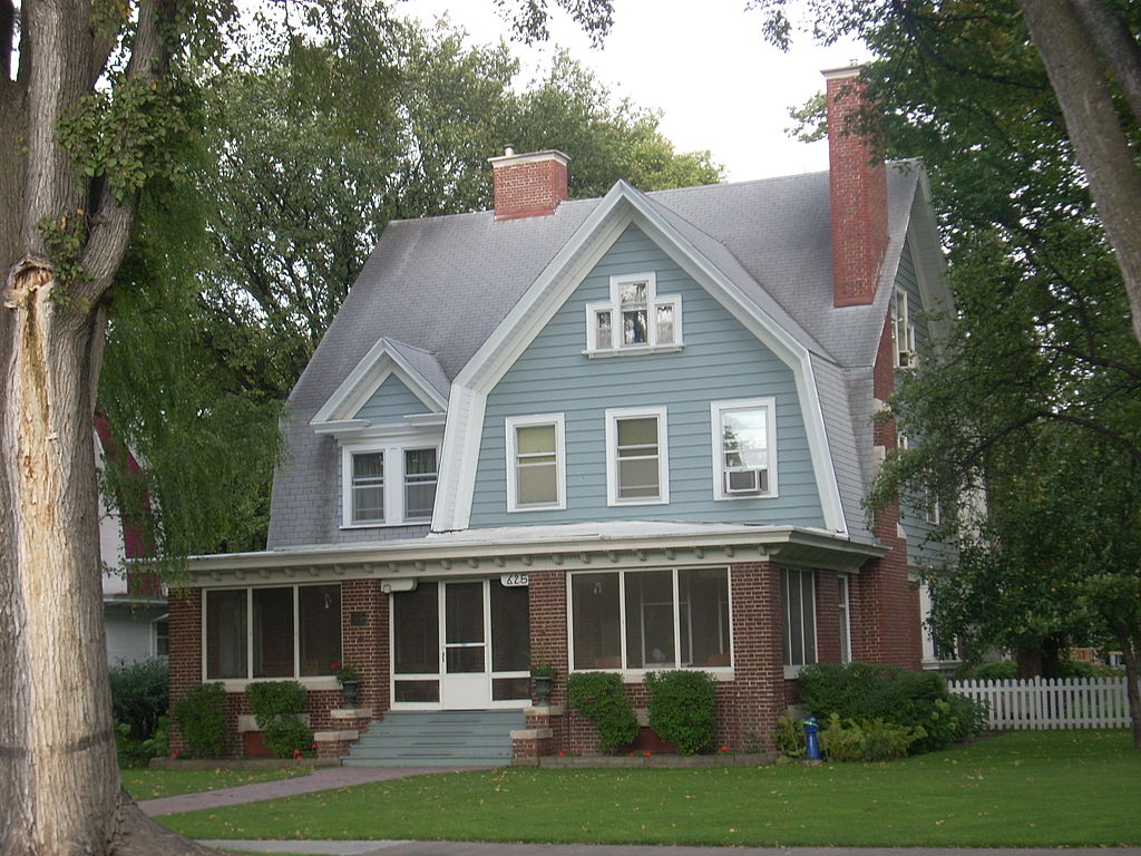 Joseph Bell DeRemer House as it looks today.