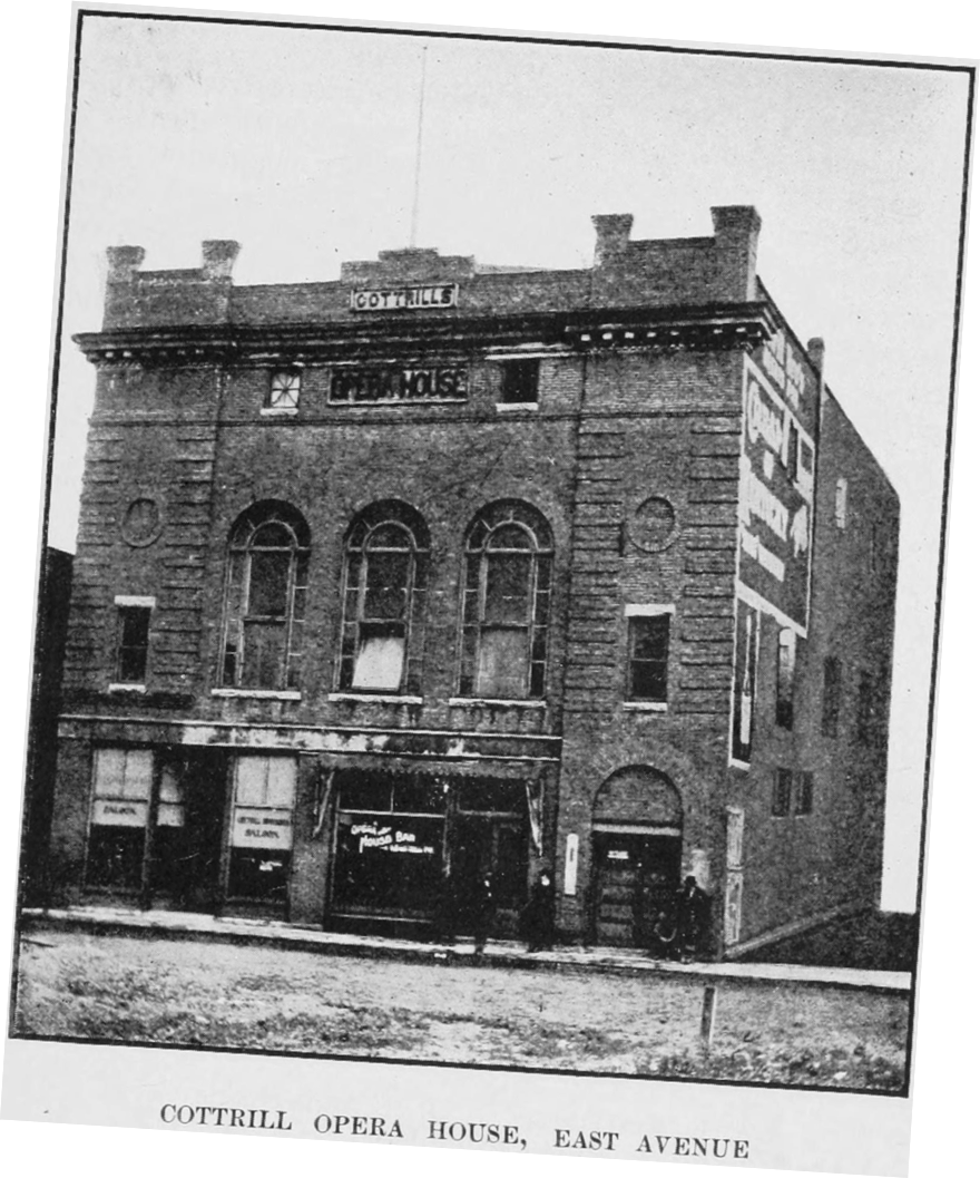 Cottrell Theater in the early 1900s