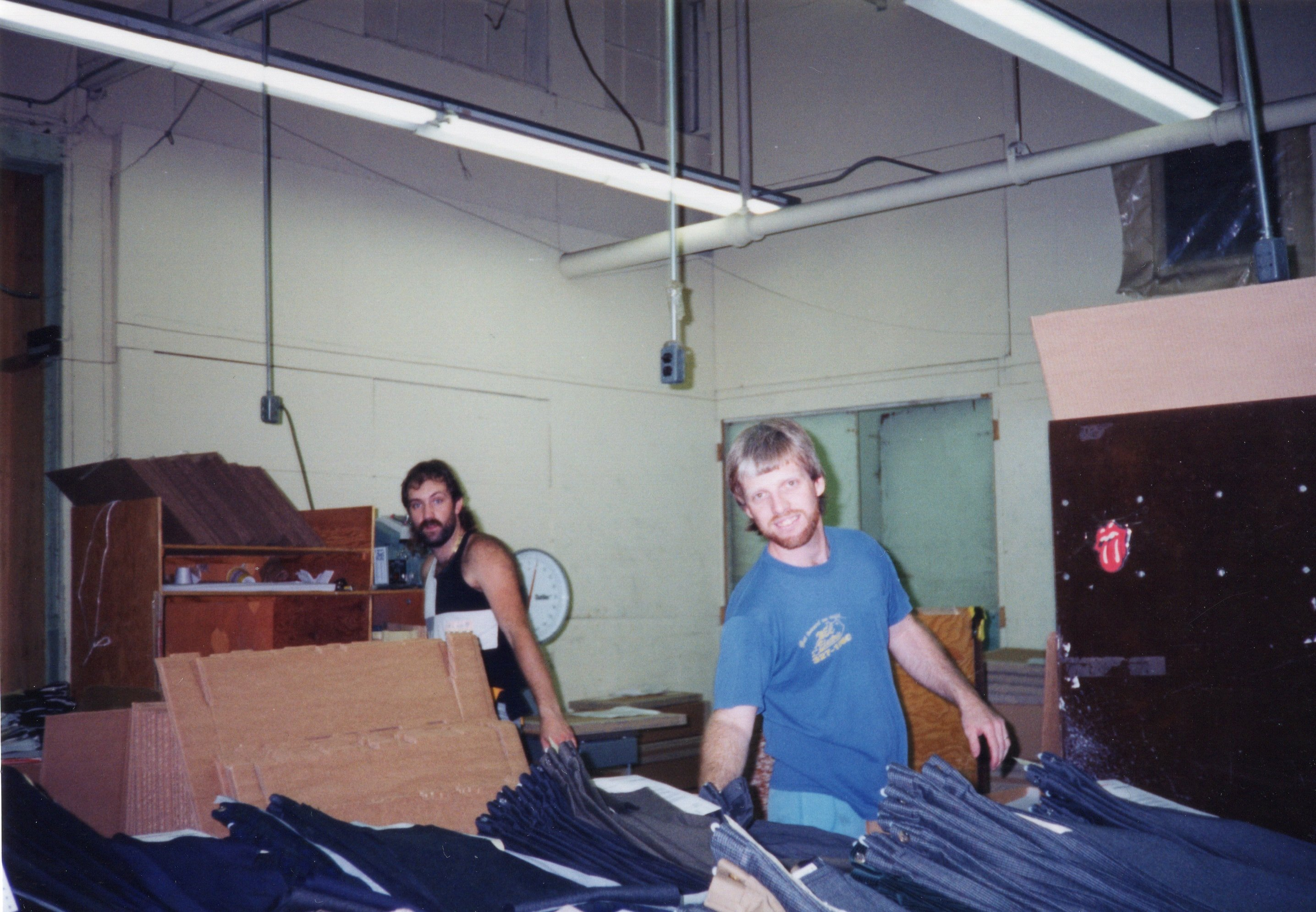 Corbin Ltd. Shipping Dept. Employee Chris Ferguson and Unidentified Employee, Huntington, WV