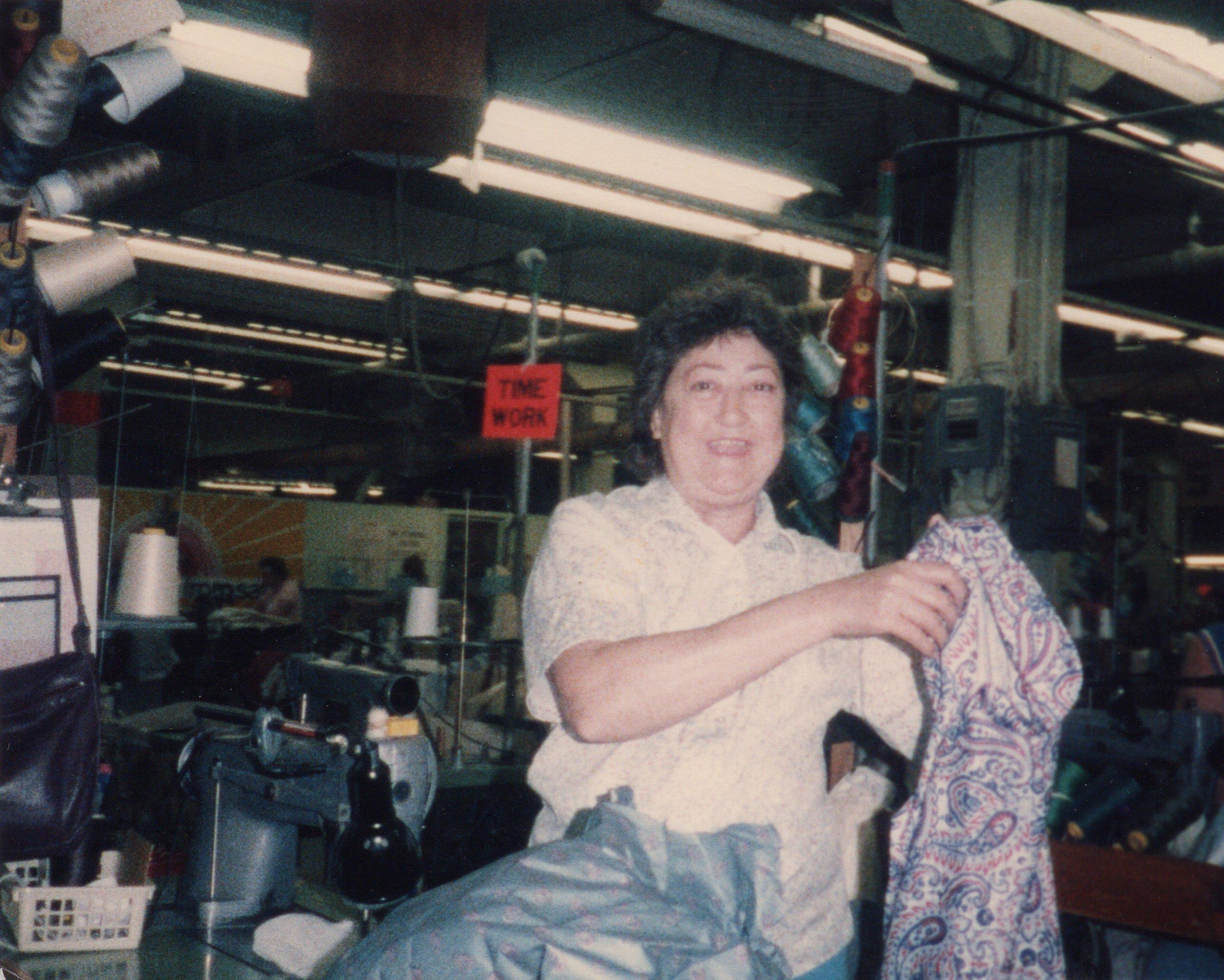 Corbin Ltd. Machine Operator Myrtle Watson, Huntington, WV