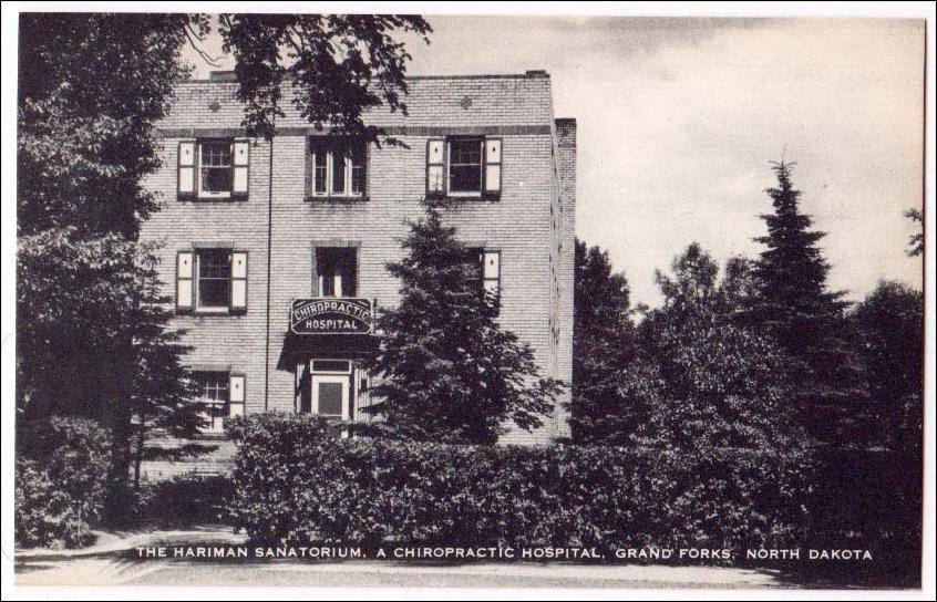 Undated postcard of the sanatorium