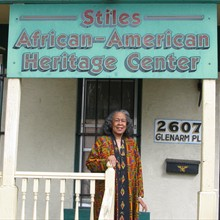 Educator Grace Stiles is the founder of the local museum.