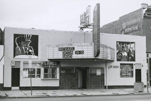 Undated photo of the Roxy Theatre from Cinema Treasures.