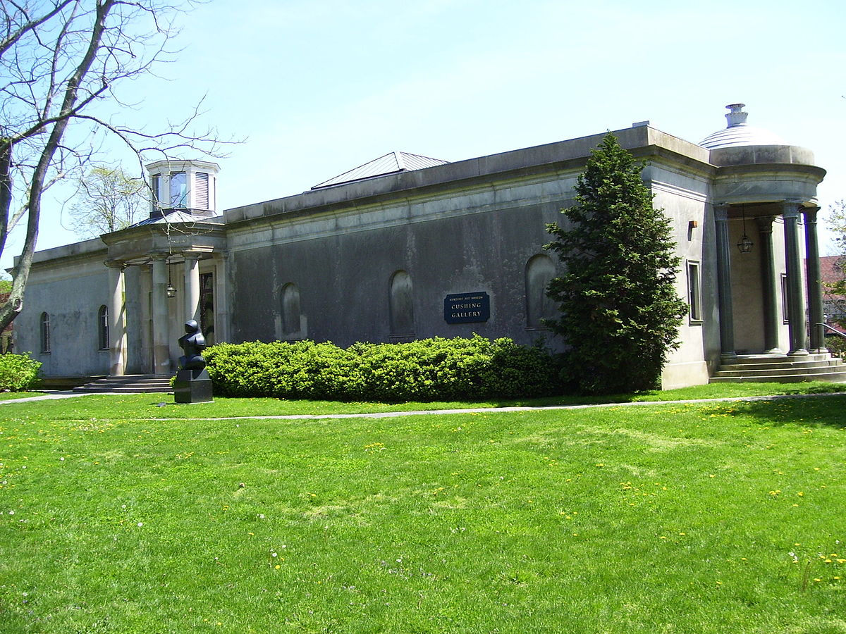 The museum's Morris/Cushing Gallery which was added to the property in 1920.