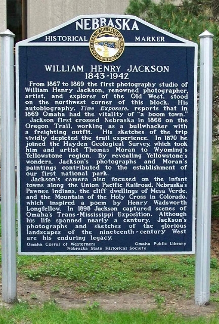The historical marker, which is located on the grounds of Dale Clark Library.