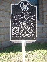 Dallas Suffragette Marker dedicated in 2010