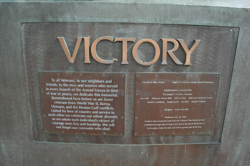 Victory Plaque