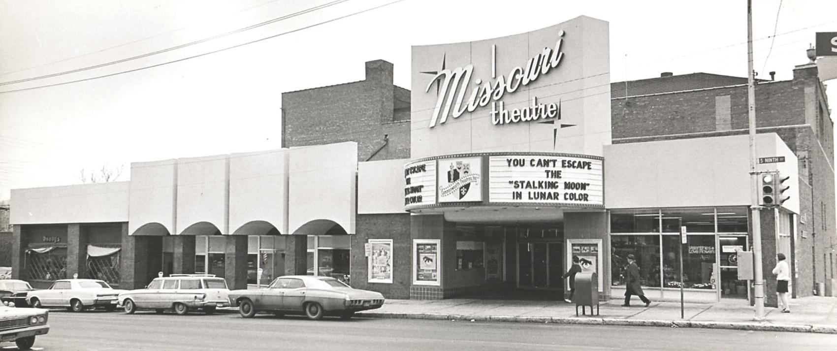 "When the Missouri Theatre opened its doors in 1928, it billed itself as a ""$400,000 show house of unrivaled beauty and extravagance."" It was the first palace-style movie theater in mid-Missouri."" ~ Missourian archives"