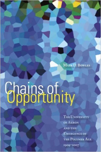 Learn more about the history of the university and its connection to the plastics industry with this book by Mark Bowles.