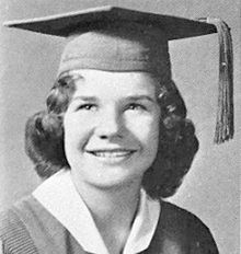 Janis Joplin as a high school senior, 1960