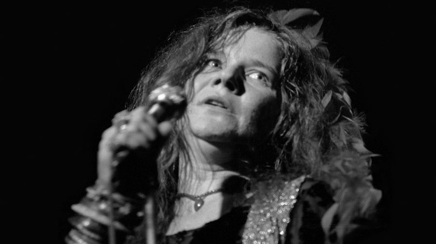 One of the last photos taken of Janis at her final live performance in August 1970