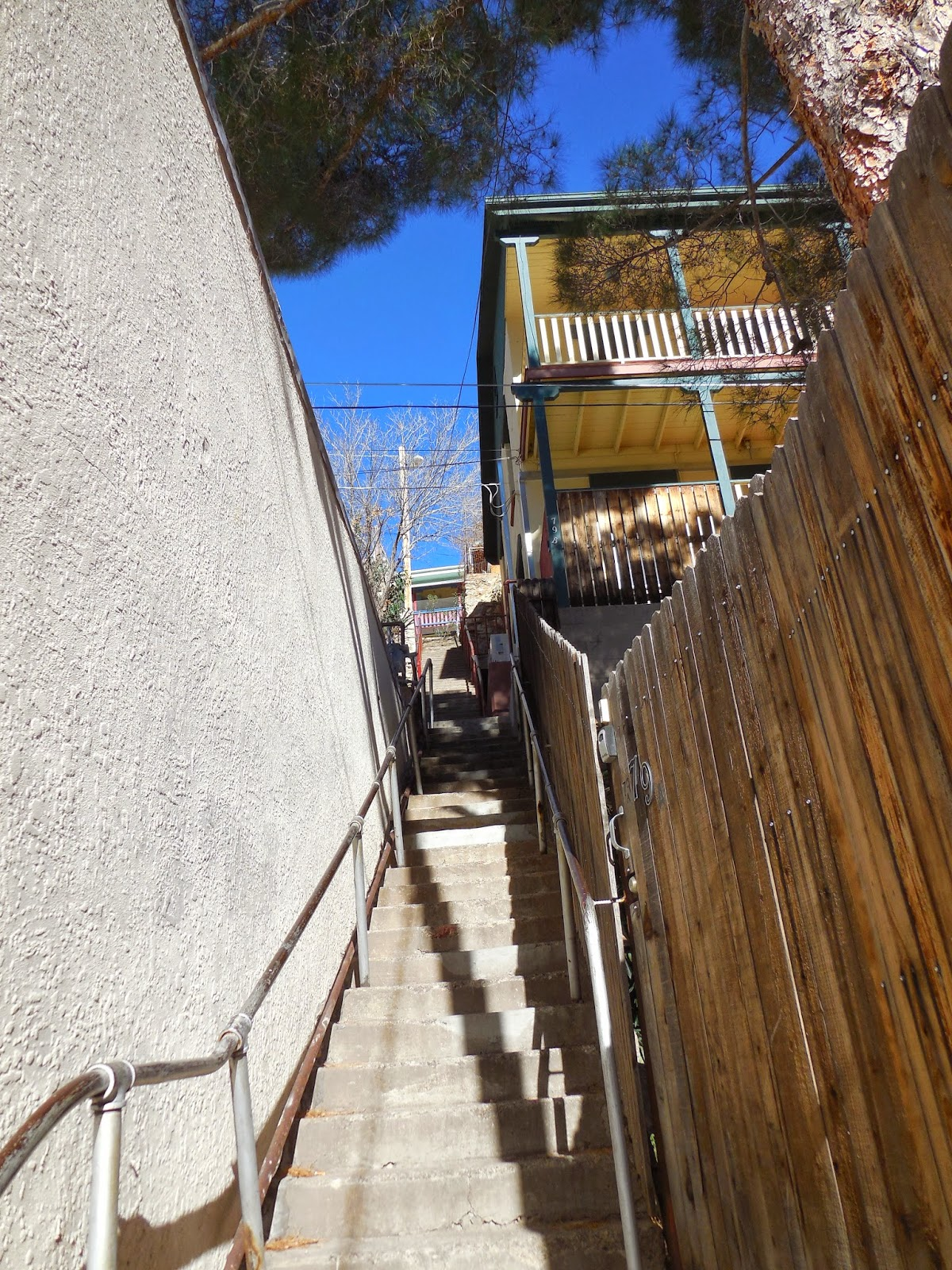 More of Bisbee's stairs