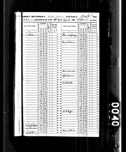 1850 Census pt. 1