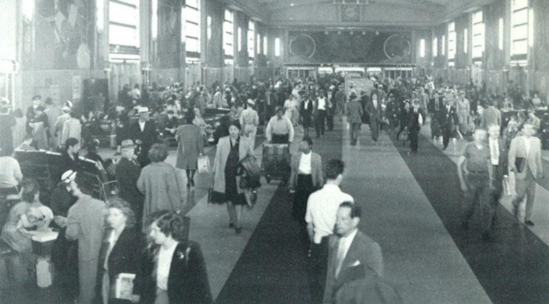 The terminals concourse