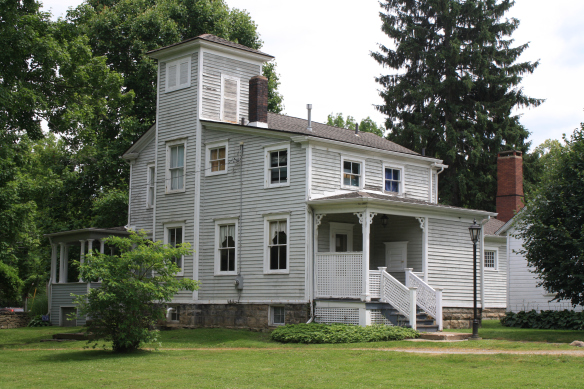 This Akron, Ohio residence was once the home of famous abolitionist John Brown. While living here Brown worked in the wool trade before getting heavily involved in the Underground Railroad and his opposition to slavery.