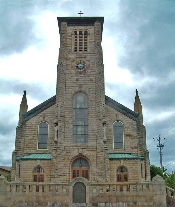 St. Vincent de Paul Parish is the oldest Catholic church in Akron.