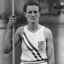 Babe Didrikson at the 1932 Olympics in Los Angeles