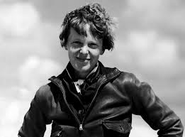 Earhart around the time of her 1932 solo flight across the Atlantic