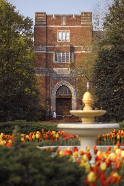 The front doors Keller Hall