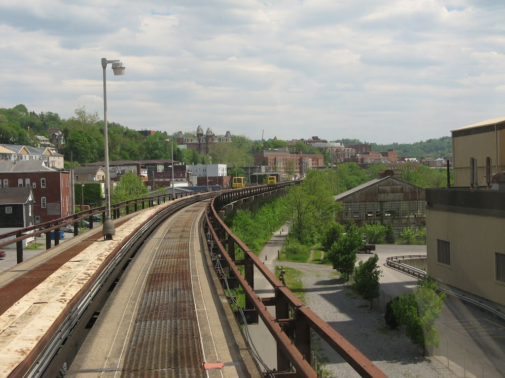 View of Sunnyside from PRT rail car. Source: http://static.panoramio.com/photos/large/81909199.jpg