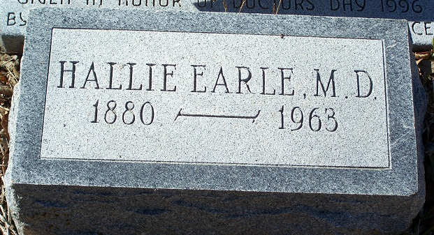 Earle's grave can be found at lot 35 in block 14