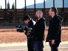 Crew of Ghost Adventures when filming at the hotel