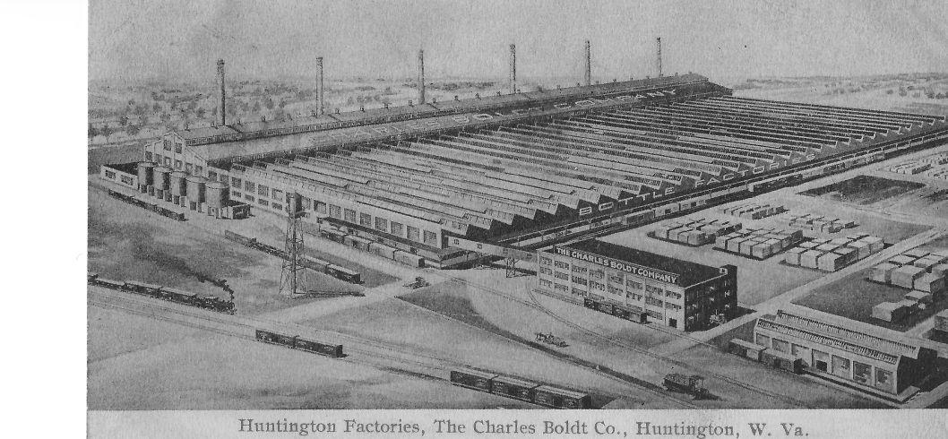 The Charles Boldt bottling factory