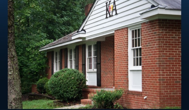 Current image of the Kappa Alpha Order lodge