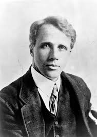 Robert Frost in his younger years