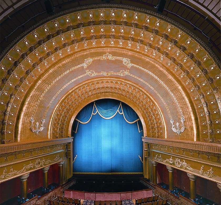 Inside the Southern Theatre. Photo from CAPA's website.
