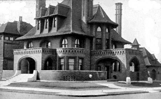 The Sells Mansion at an unknown date.
