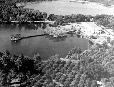 The site of the Fort was again utilized by the government when the Navy created the Underwater Sound Reference Laboratory during WWII to take advantage of the great depth of Lake Gem Mary.