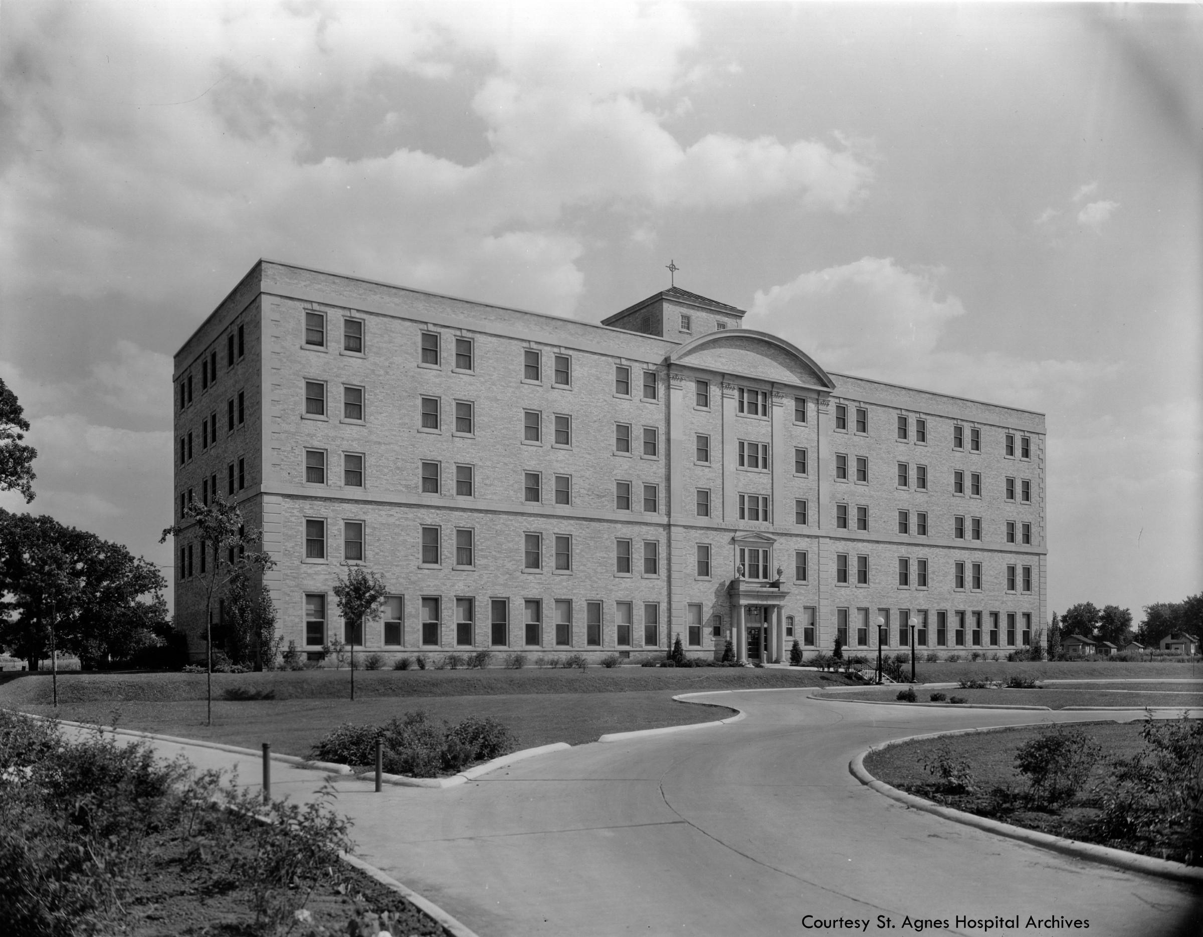 St. Agnes School of Nursing built in 1931.