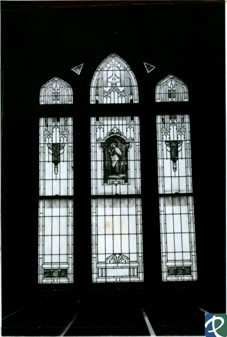 An example of stained glass windows that can be found in the current Immanuel Lutheran Church.