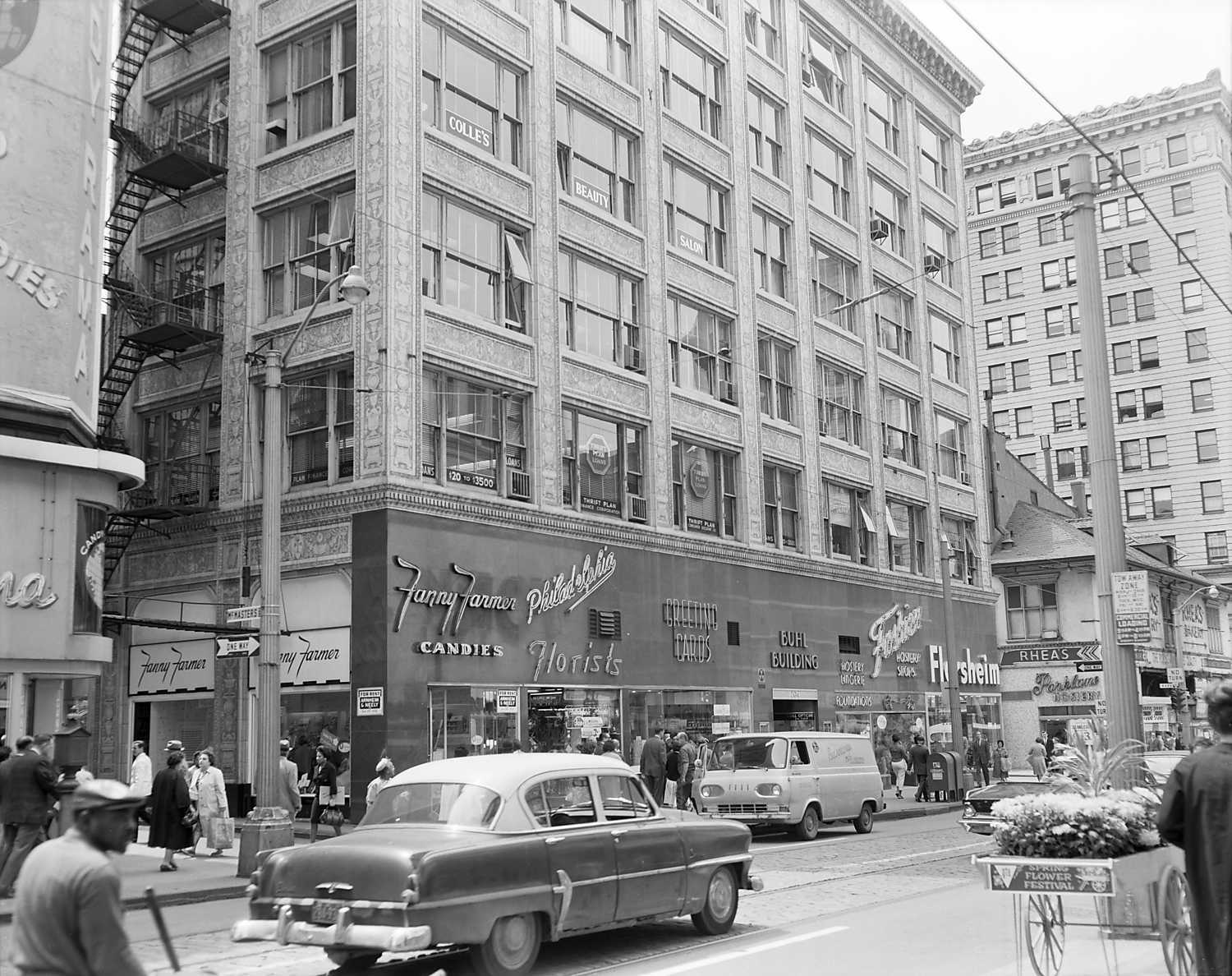 The Buhl Building in 1964