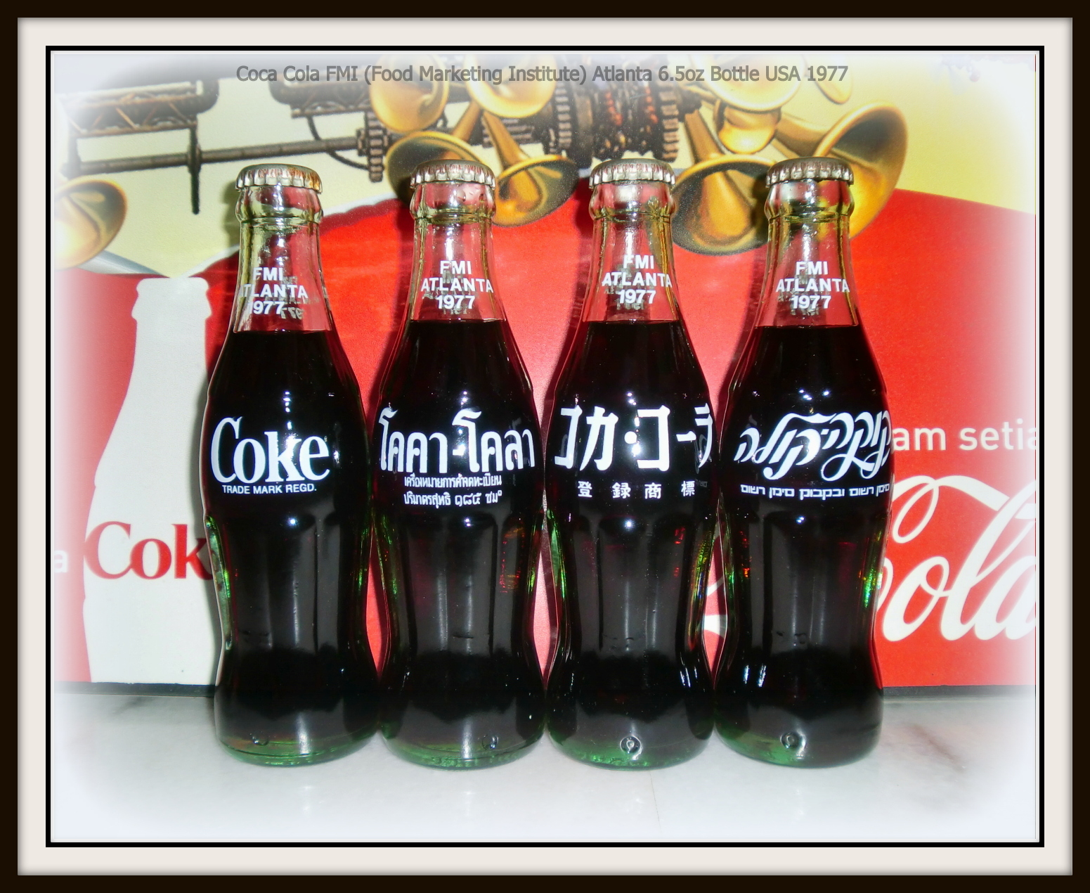 Chicago Coca Cola bottles for different ethnicities