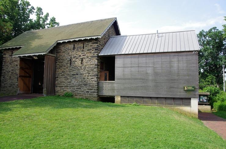 The 1775 Bartram Barn.