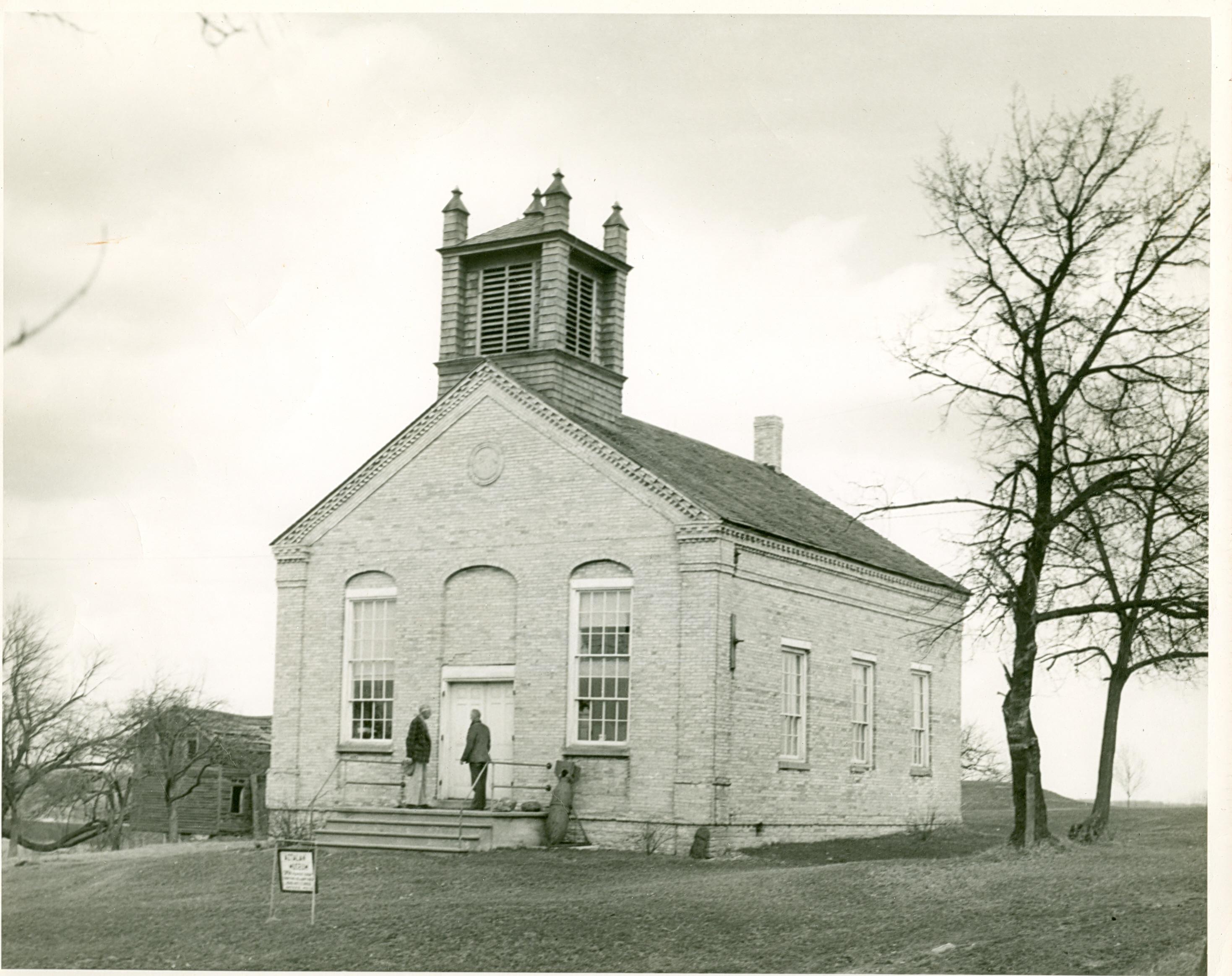 Aztalan Baptist Church built in 1852