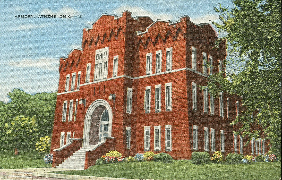 This building was constructed in 1914 by the Ohio National Guard.