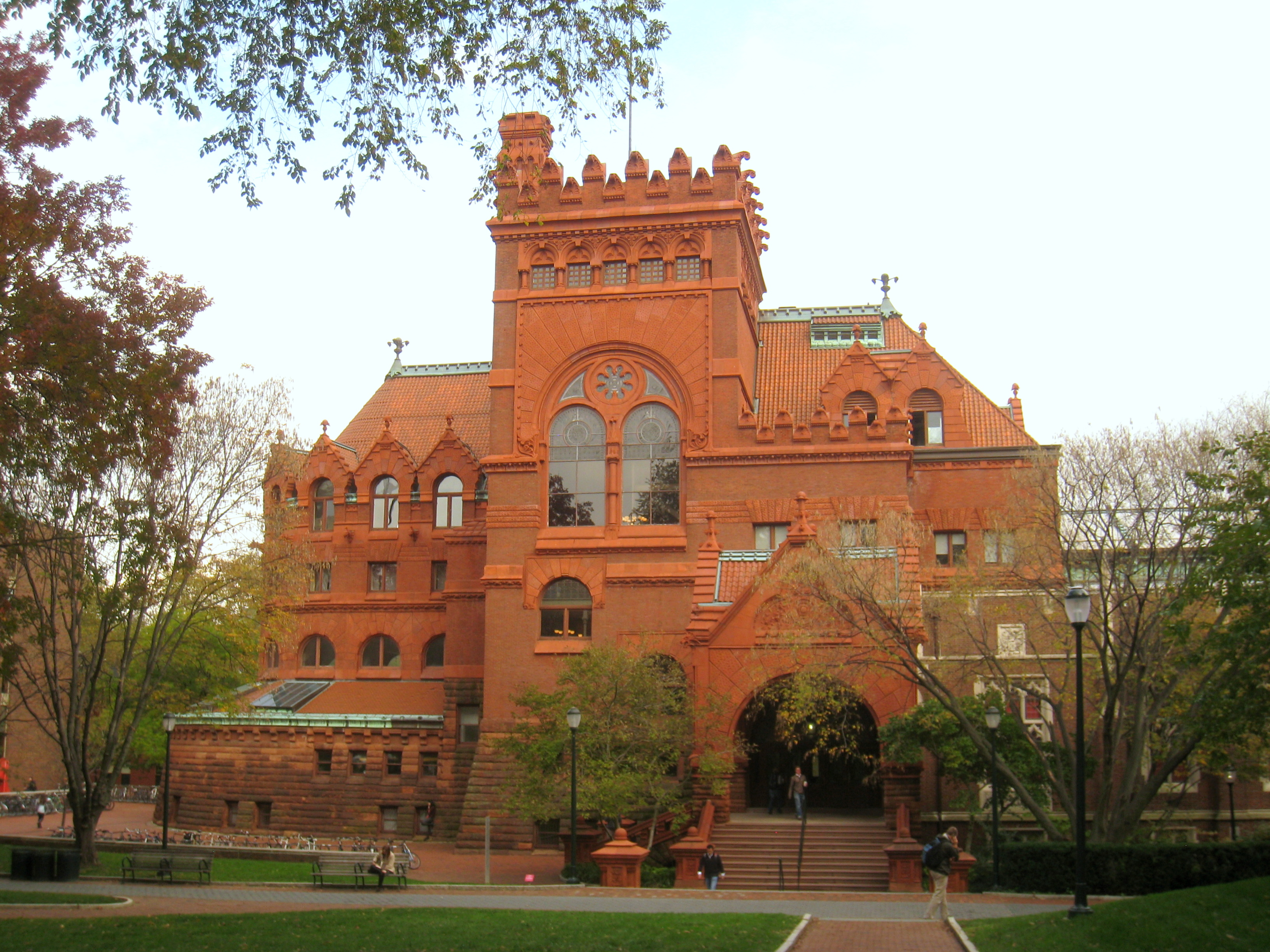 The Fisher Fine Arts Library.