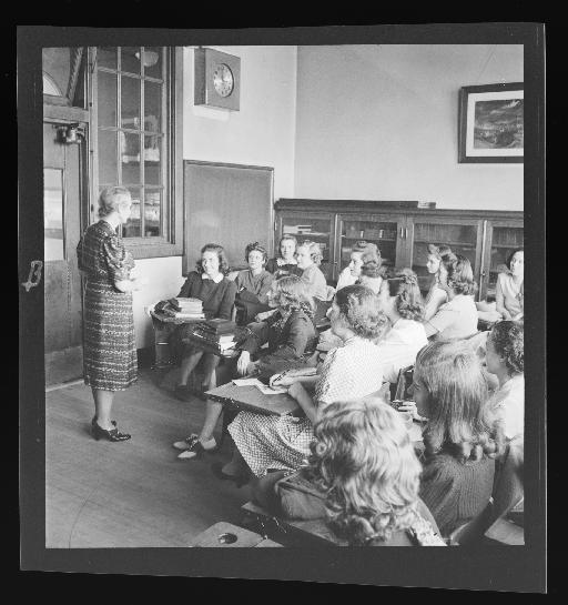 Harris Teachers College Classroom, 1940s
