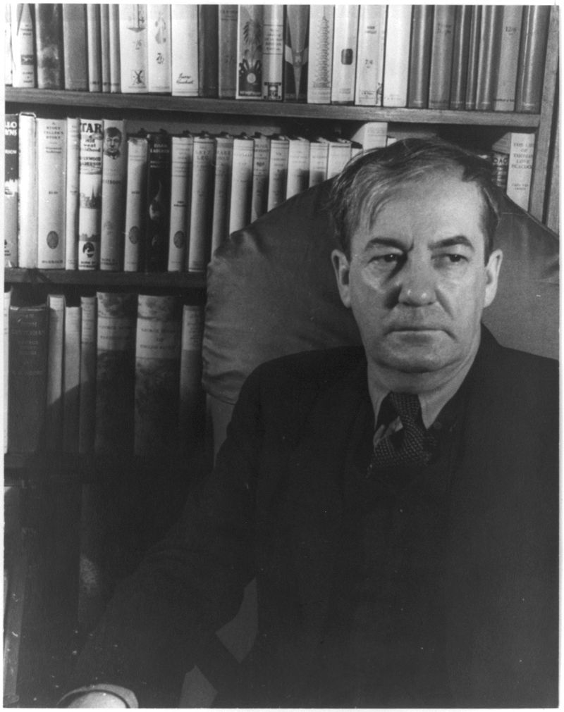 Sherwood Anderson in 1933. Courtesy of the Van Vechten Collection at the Library of Congress