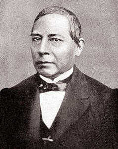 Juarez was the President of Mexico from 1861-1863 and 1867-1872
