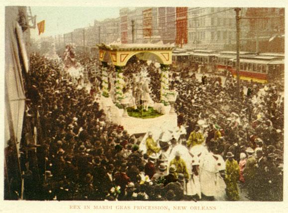 Mardi Gras in 1900