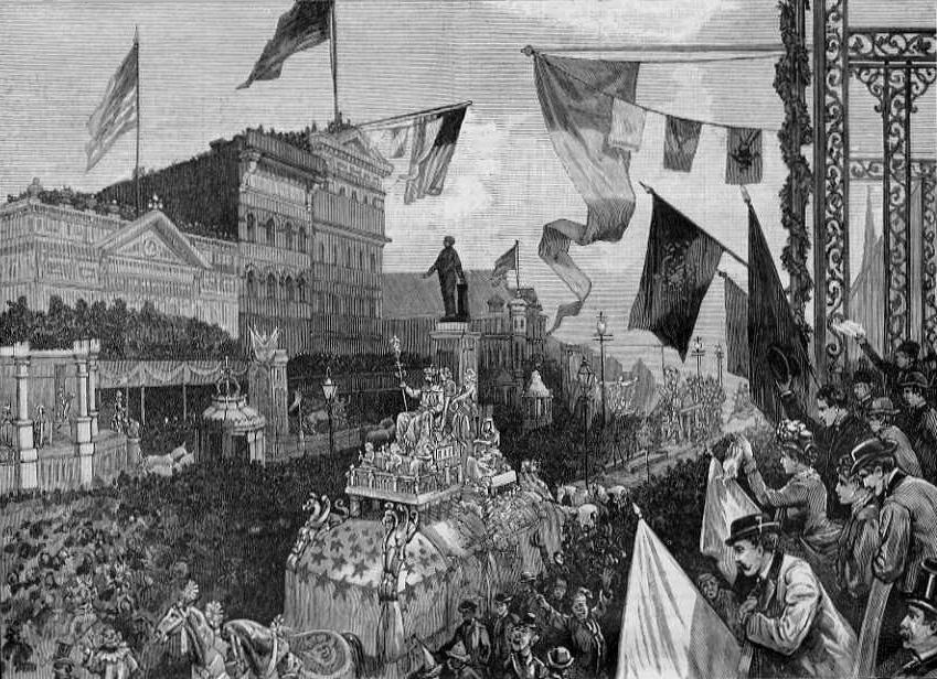 Mardi Gras in 1885
