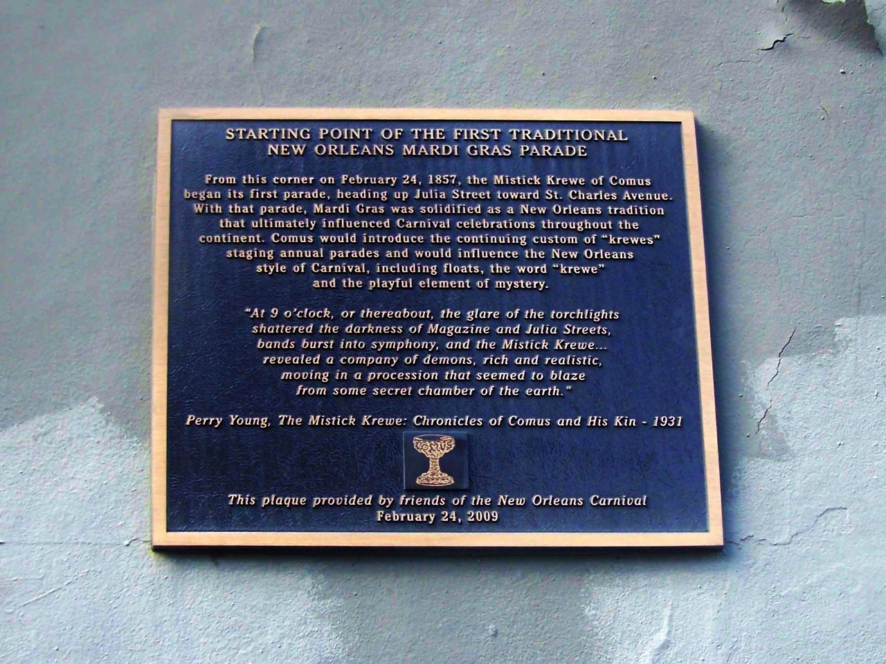 Close up of marker