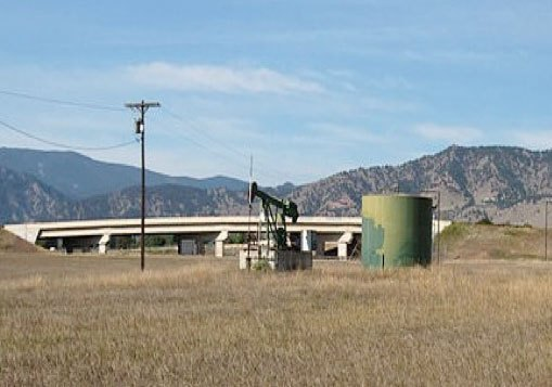 The McKenzie Oil Well site as it looks today