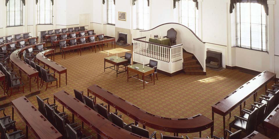 The house chamber within Congress Hall.