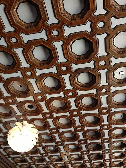 Ceiling of the Julia Morgan Ballroom