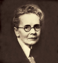 The first licensed female architect in California, Julia Morgan designed over seven hundred buildings and maintained her office at the Merchants Exchange building.
